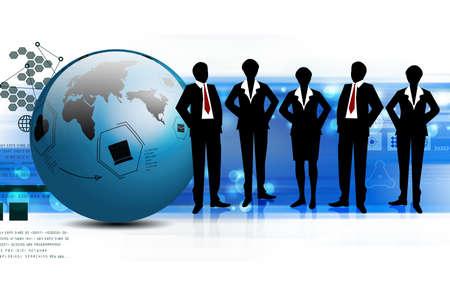 Business-Team Standard-Bild - 35404118
