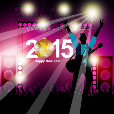theatrical dance: New year music show