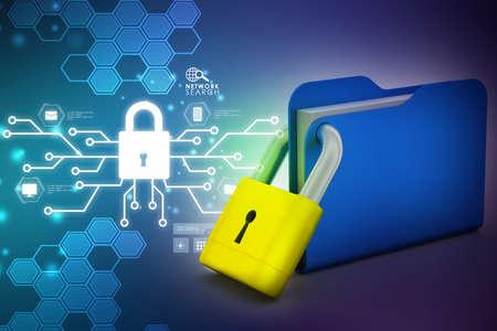 locked: Folder locked