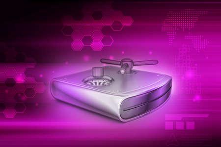 hard drive: Secure Hard drive Stock Photo