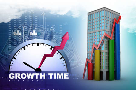 real estate growth: real estate growth concept