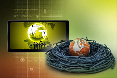 conservative: International investments and global finance Stock Photo