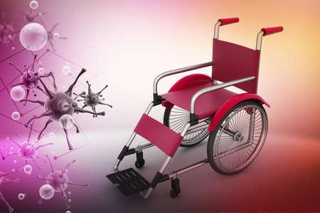 wheel chair: Wheel chair