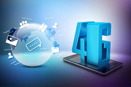 4g: Smart phone with 4G