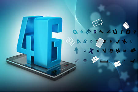 Smart phone with 4G