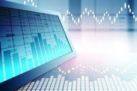 Aktienmarkt-Analyse Standard-Bild - 41522571
