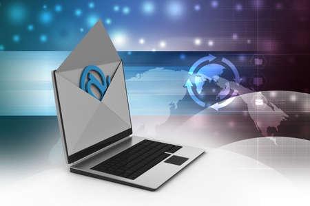 telegrama: Email and laptop