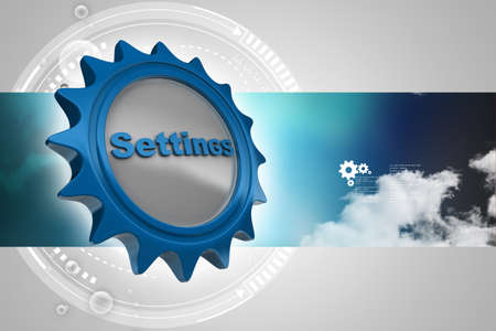 settings icon: tools and settings icon