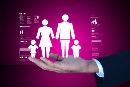 matrimonial: Man present  family icon