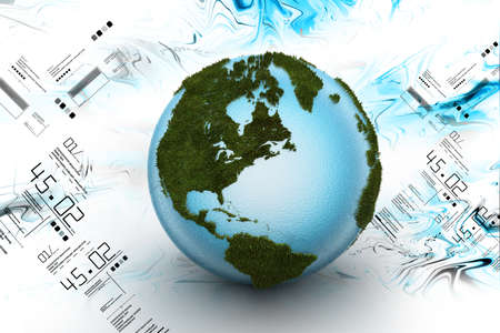 earth day: 3d Globe