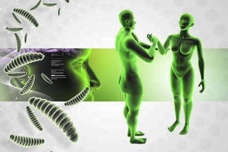 Immune defence concept Stock Photo