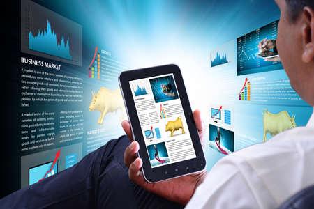 concepts for Stock market online News Stock fotó - 79942121