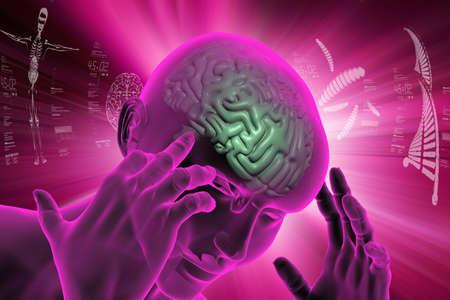 representation of human brain Reklamní fotografie - 80018274