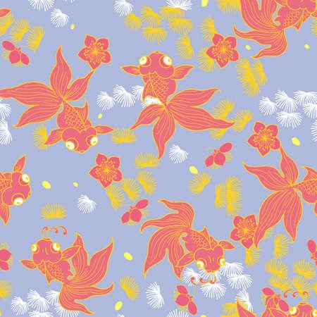 Flowers background vector illustration.