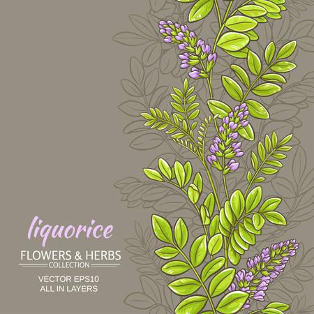 licorice vector background