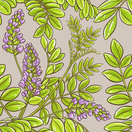 A licorice seamless pattern