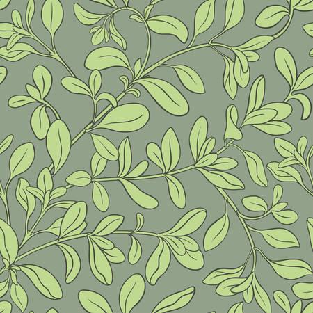 marjoram vector pattern