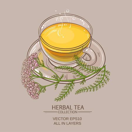 yarrow: Cup of yarrow tea