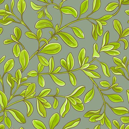 Marjolein laat vector patroon op kleurachtergrond Stock Illustratie