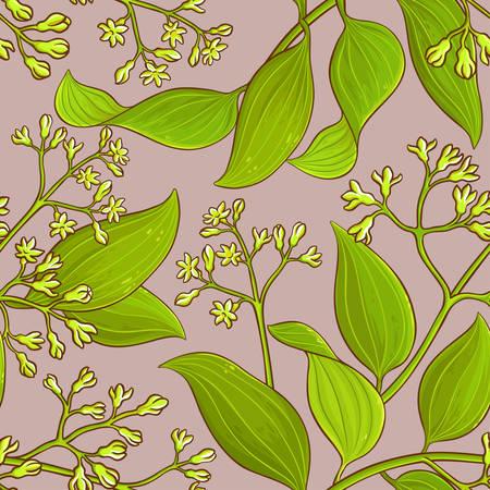 cinnamon vector pattern Illustration