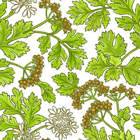 coriander vector pattern 向量圖像
