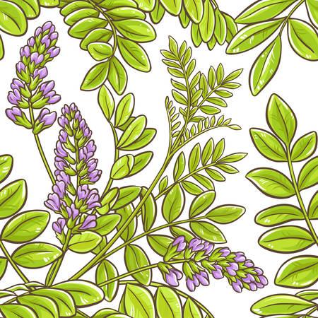 licorice vector pattern isolated on plain background Ilustracja