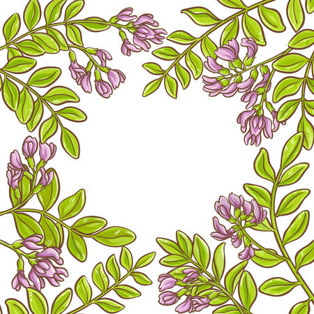 Astragalus vector frame.