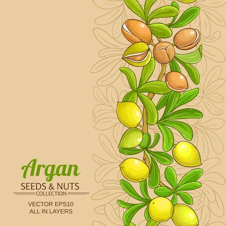 argan vector pattern Stok Fotoğraf - 115743427