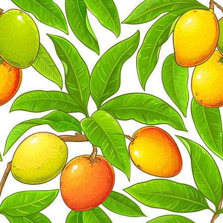 mango vector pattern Illustration