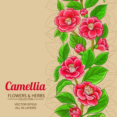 camellia vector background