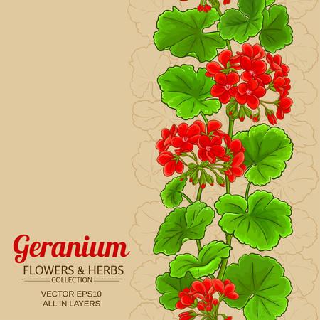 geleranium vector background