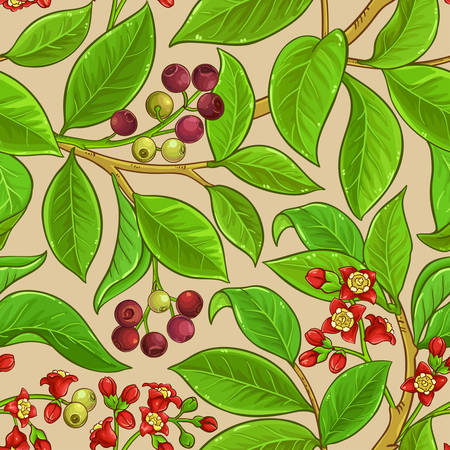 sandalwood vector pattern illustration