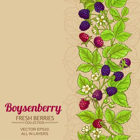 boysenberry vector background