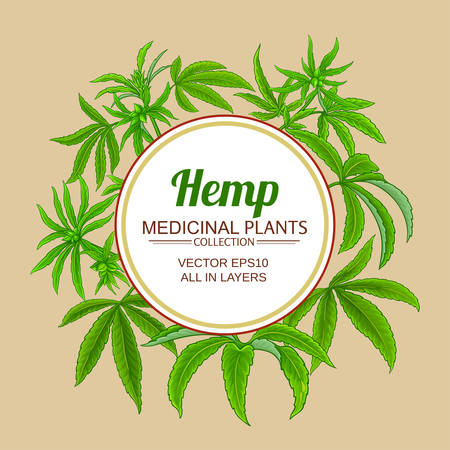 hemp vector frame