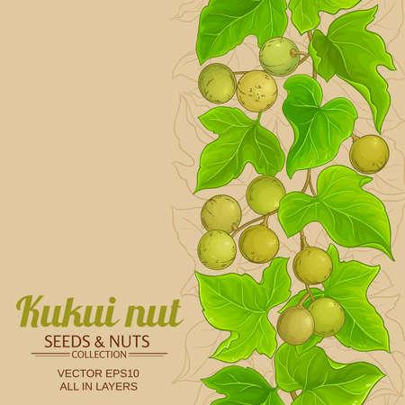 kukui vector background