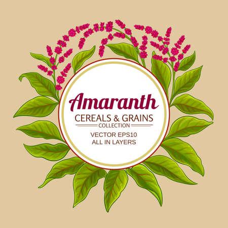 amaranth vector frame
