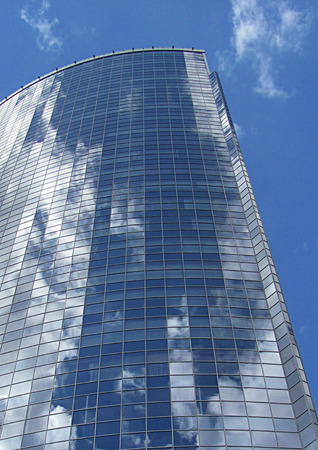 Architecture and glass.