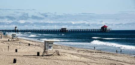 Huntington Beach Peir Stock Photo - 11379716