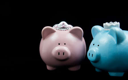 King  and Queen Piggy Banks
