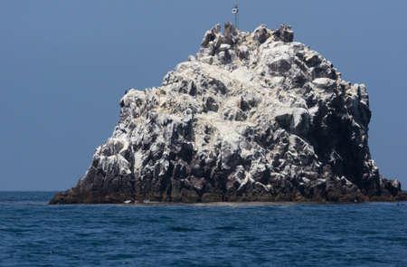 catalina: Ship Rock situato a Due Porti, Santa Catalina Island