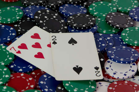 Seven deuce Texas Hold