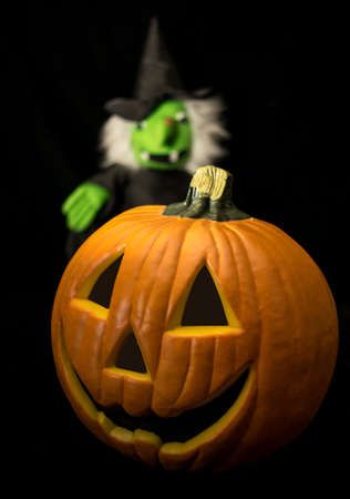 Halloween Jack O lantern  photo