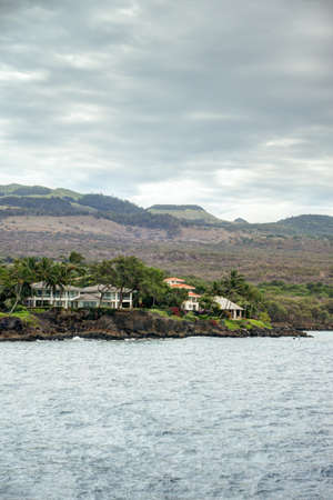 Waterfront home on the coast of Maui, Hawaii