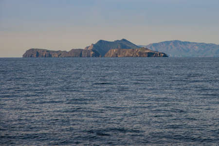 Anacapa Island part of the Channel Islands off the coast of California