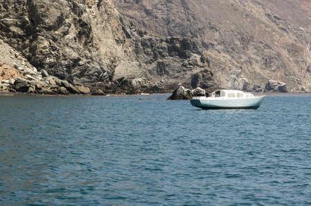 catalina: Yacht ormeggiato a Porto Catalina su Isola di Santa Catalina. Vicino Due Porti Istmo
