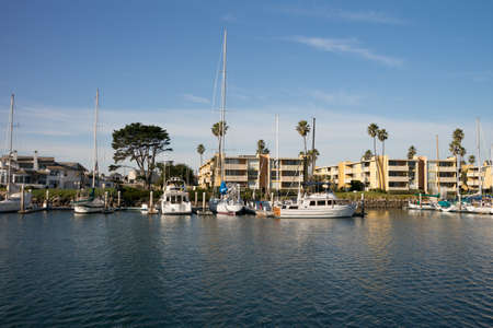 Boats at Channel Islands Marina in Oxnard California