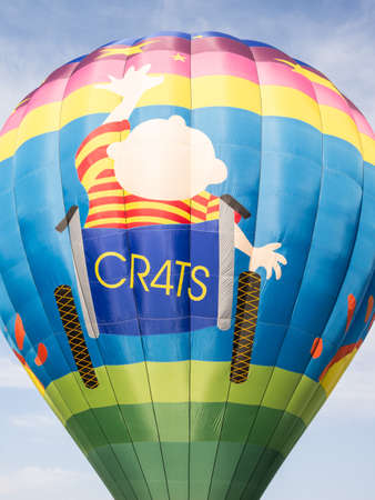 non: CRATS is a non profit hot air balloon designed for kids with special needs. It is the only wheel chair accessable hot air balloon