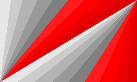 Grey and red abstract background vector illustration. Cover template layout, business flyer, geometric texture template.