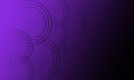 Abstract purple and black futuristic background with glowing neon circles.