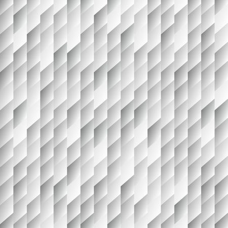 Abstract light seamless background pattern with rhomboids.Vector 3D graphic illustration in grayscale. Ilustracja